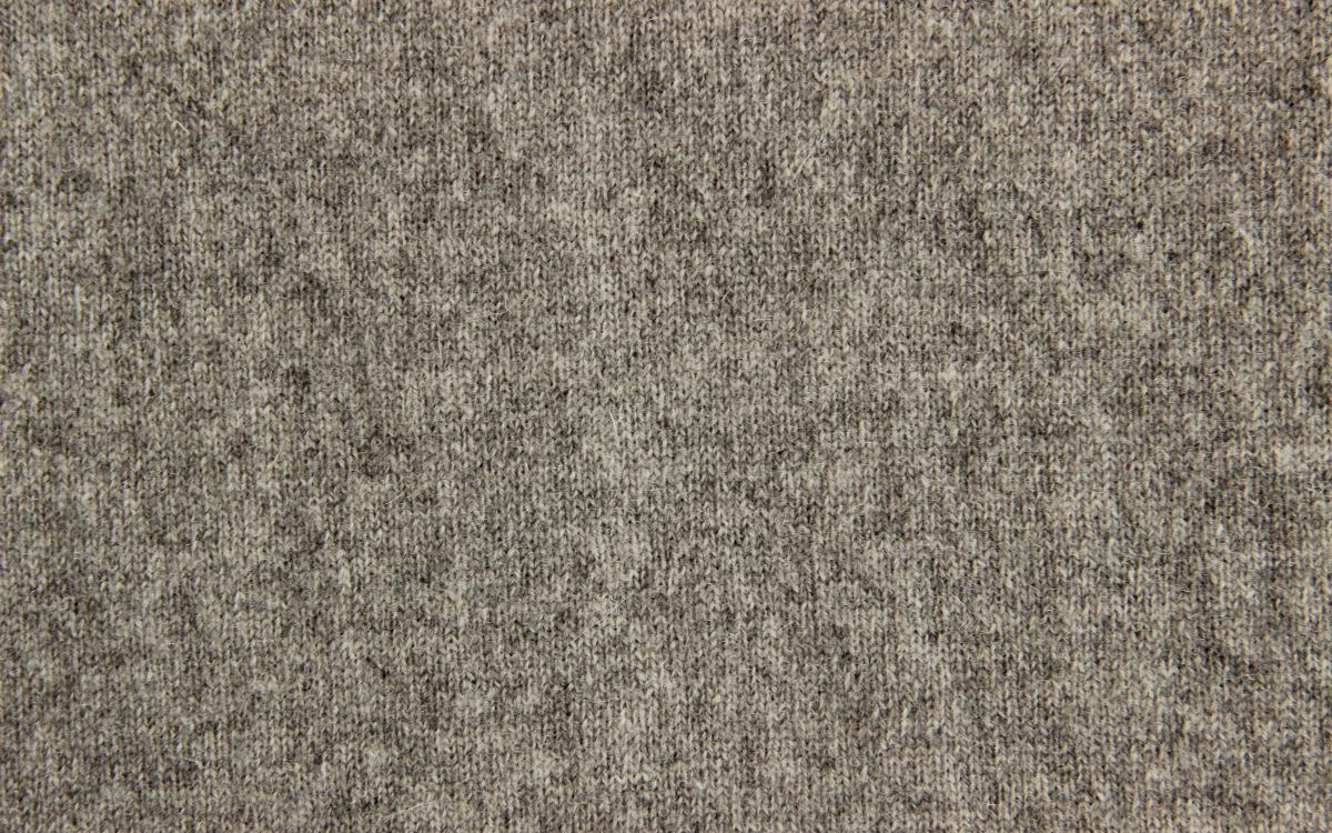 33% wool mixed rib