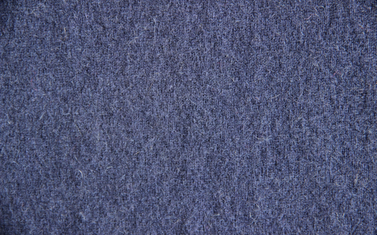 Knitted fabric water-soluble wool blend